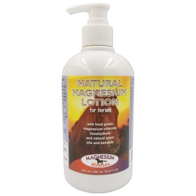 Magnesium Lotion for Horses